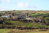 Bradninch, the village from the east - geograph.org.uk - 104155.jpg