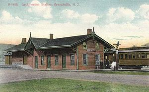 Sussex Railroad - Branchville Station, built in 1869