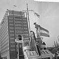 Brandbluspatrouillevaartuig Havendienst 1 in gebruik genomen. De Havendienst , Bestanddeelnr 915-6926.jpg