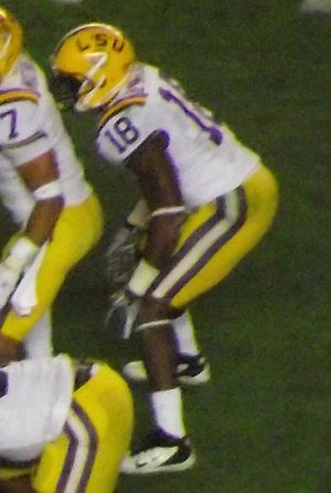 Brandon Taylor - Taylor during the 2011 LSU vs. Alabama football game