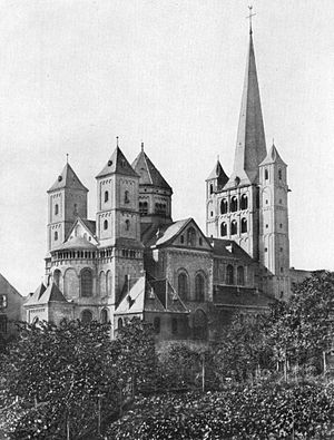 Ezzonids - The Abbey of Brauweiler was founded by Ezzo, Count Palatine of Lotharingia.