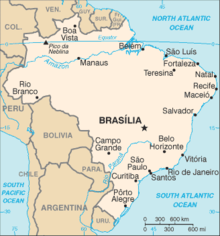 map of paraty brazil where is manaus on