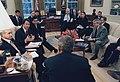 Brett Kavanaugh makes a point to President George W. Bush.jpg