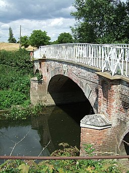Bridge over the River Mole - geograph.org.uk - 198253
