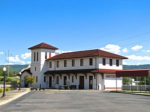 Bridgeport, Alabama - Bridgeport Depot