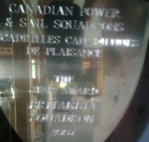 Britannia Yacht Club Canadian Power & Sail Squadron Britannia Squadron plaque.jpg