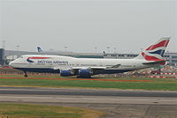 G-CIVY - B744 - British Airways