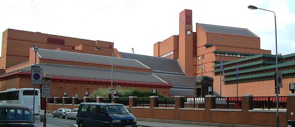 British Library - Kings Cross - London - England - 020504