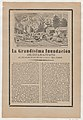 Broadsheet relating to the great flood of Guanajuato on 30 June 1905, a description in the bottom section MET DP869137.jpg
