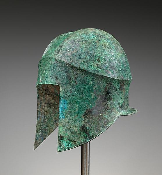 File:Bronze helmet of Illyrian type MET DP284905.jpg