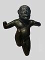 Bronze statuette of a flautist.JPG