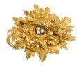 Brosch av guld med pärlor, 1866 - Hallwylska museet - 110313.tif