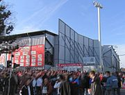 Bruchwegstadion mainz germany outside