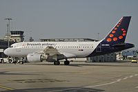 OO-SSU - A319 - Brussels Airlines