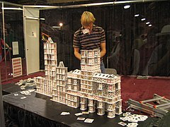 How To Build Tallest House Of Cards