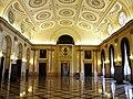 Bucuresti, Romania, Palatul Regal (Muzeul National de Arta al Romaniei - Pavilionul Sala Tronului - Sala Tronului interior 1 ); B-II-m-A-19856.JPG