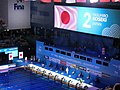 Budapest2017 fina world championships 50breaststroke semifinal Yasuhiro Koseki Japan.jpg