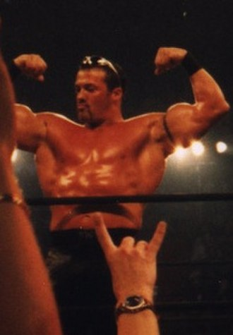 Buff Bagwell - Bagwell posing during a taping of Nitro in 1998