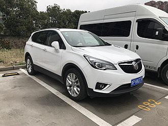 Buick Envision - Image: Buick Envision facelift