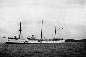 Bussard-class cruiser - Falke in 1892