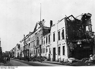 Wilhelmstrasse - Demolished Wilhelmstrasse, 1946