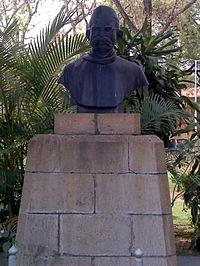 200px bust of pt. ravishankar shukla