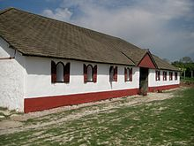 reconstructed Roman Villa, Butser Ancient Farm