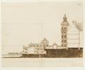 Byggnadsritning av planerad sjögård vid Skoklosters slott, 1669 - Skoklosters slott - 98136.tif