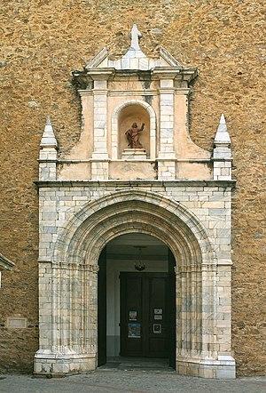 Church of Saint Peter, Céret - Image: Céret Église Saint Pierre portail