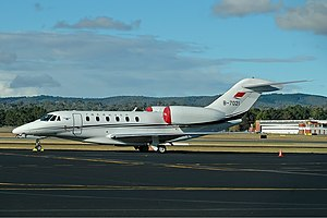 CAAC Cessna 750 Citation X auf dem Canberra Airport