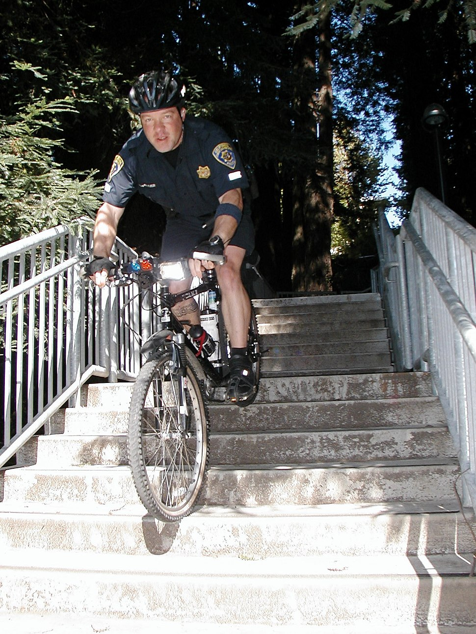CA Police Bicycle