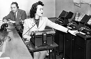 Our Secret Weapon - Translating and transcribing propaganda broadcasts from Europe recorded at the CBS listening post (May 1941)