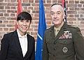 CJCS greets Norwegian Defense Minister Ine Marie Eriksen Søreide (37177588701).jpg