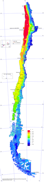 Climate Of Chile Wikipedia