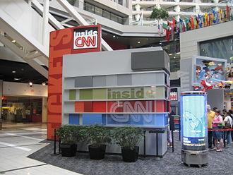 CNN Center - Inside CNN Studio Tour check-in