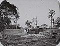 COLLECTIE TROPENMUSEUM Een benteng (fort) van het KNIL leger voor de poorten van Koetaradja aan het begin van de Atjeh-oorlog Noord-Sumatra. TMnr 60042376.jpg