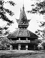 COLLECTIE TROPENMUSEUM Het frontgebouw van de jaarmarkt 'Pasar Gambir' van 1930 te Jakarta Java TMnr 10002597.jpg
