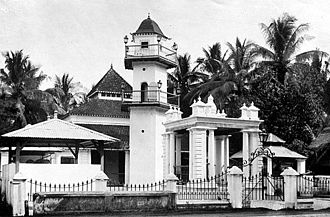 Makassar people - A Makassar mosque in the colonial period, 1930s.