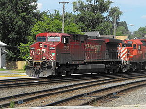 GE AC4400CW - Image: CP Rail Loco No.9560