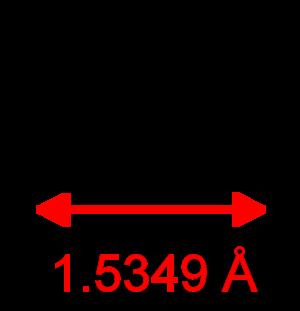 Carbon monosulfide - Image: CS CRC MW dimensions 2D Lewis