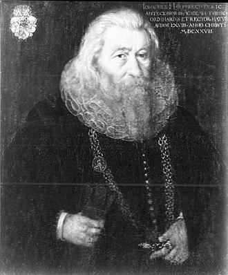 Walheim - Johannes Christoph Harpprecht in 1628