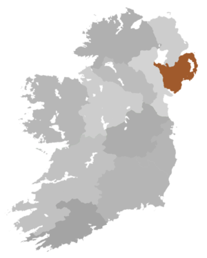 Diocese of Down and Dromore - Diocese Highlighted
