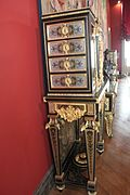 Cabinet sur pi%C3%A8tement - Tiroirs - Cabinet on stand - Drawers - Vers 1690-1710 - Boulle - Louvre - OA 5469