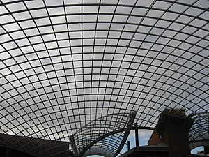 Cabot Circus - Glass roof above The Circus