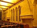 Caen abbayeauxhommes salledesgardes interieur mur ouest.JPG