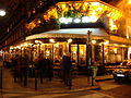 Cafe de Flore at night.JPG