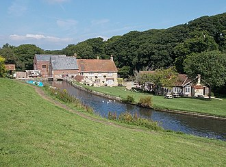 Calbourne - Calbourne Water Mill, now a tourist attraction