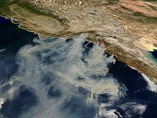 Cedar Fire (2003) California Wildfire in 2003