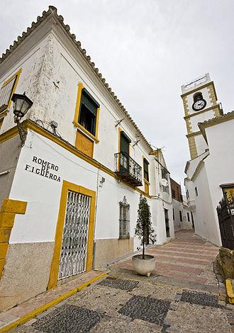 Juan Romero de Figueroa - Image: Calle Romero de Figueroa