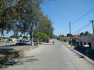 General Güemes, Salta - Image: Calle en General Güemes